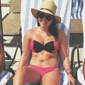 polka dot bikini bottom